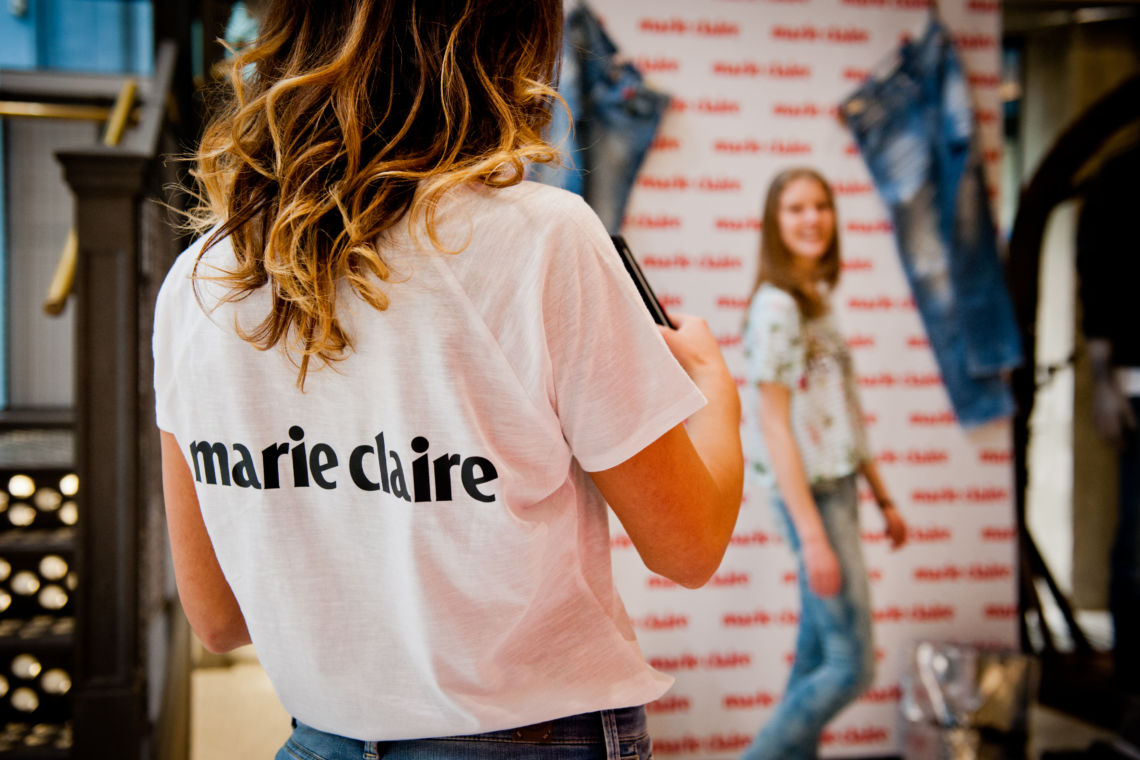 Jeans Day Marie Claire Belgium