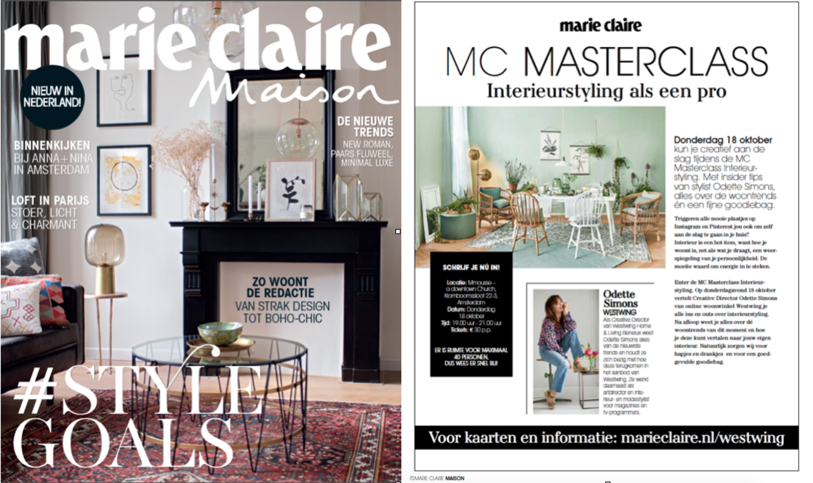 Marie Claire Maison launches in the Netherlands  MCI Marketing